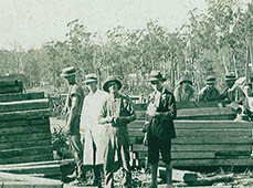 Herons Creek Timber Mill Workers