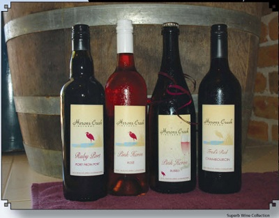PW7 Superb Wine Collection-Herons Creek Vineyards