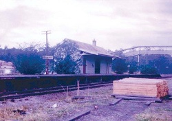 VW2 Herons Creek Rail Station 1965