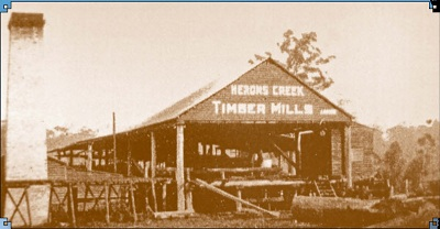 VW5 Herons Creek Timber Mill c1940