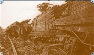 VW9 Train Derailment 1926